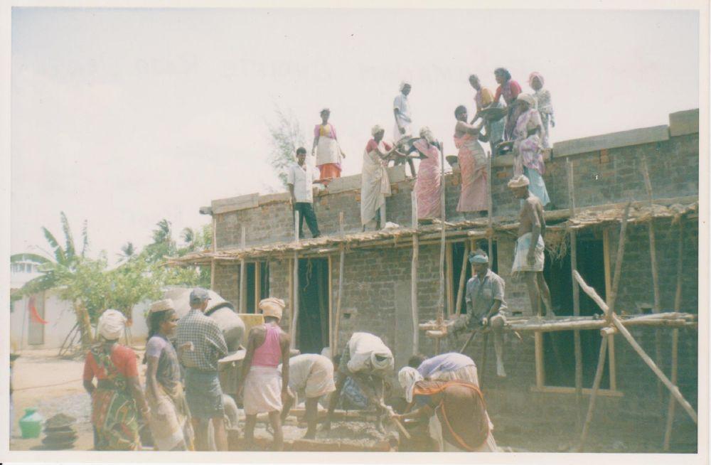 Perumanam - Cantiere nuovo asilo